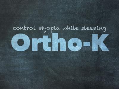 Ortho K Title 475